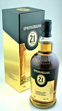 Springbank 21 yrs old